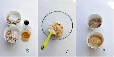 Lạ miệng với bánh dẻo tuyết vị chanh leo cho trung thu thêm màu sắc