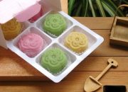 Cách làm bánh dẻo nhiều màu sắc mà không dùng phẩm màu cực an toàn