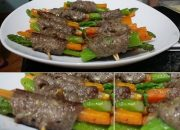 Đổi món cho gia đình với thịt bò cuộn măng tây siêu ngon miệng