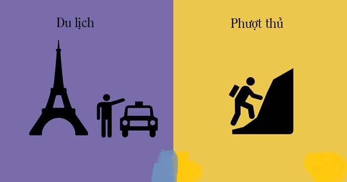 Đếm sơ qua những điểm khác biệt của dân du lịch chính hiệu và phượt thủ