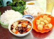 Ăn bún đậu mắm tôm, quán nào ngon nhất Hà Thành ? P1