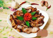 Trổ tài làm thịt ba chỉ nướng sả ớt siêu mềm ngon cho bữa cơm tối gia đình