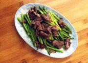 Bữa trưa tuyệt ngon với món thịt bò xào măng tây đảm bảo không ngán