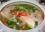 Công thức nấu canh chua cá diêu hồng ngon không thể chê