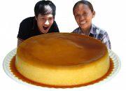 Bà Tân Vlog – Làm Bánh Flan Caramen Siêu To Khổng Lồ | Giant Flan Cake