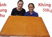 Bà Tân Vlog – Làm Bánh Trung Thu Siêu To Khổng Lồ 50Kg | Moon Cake