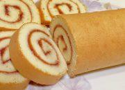 Bánh bông lan cuộn(roll cake)_chi tiết cách làm bánh bông lan cuộn đơn giản,thành công 100%_Bếp Hoa