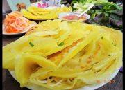 BÁNH XÈO – Bí quyết pha Bột đổ Bánh Xèo giòn – Bánh Xèo nhân Tôm Thịt – làm đồ chua by Vanh Khuyen