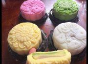 Bánh trung thu dẻo 4 màu tự nhiên 4 loại nhân cực ngon || thành công ngay 99% || Natha Food