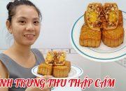 Cách làm bánh trung thu thập cẩm không cần lò nướng