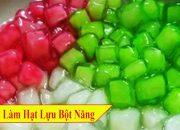 ✅ Làm Chân Trâu Hạt Lựu Bằng Bột Năng NGon Cực Dễ Làm | Hồn Việt Food
