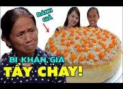 Mẹ con Bà Tân Vlog ngày hôm nay đã chính thức lên tiếng việc làm bánh Bông Lan gj.ả