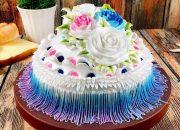 cake decorate creation beautiful-art-October – bánh kem hình tròn đẹp và đơn giản (523)
