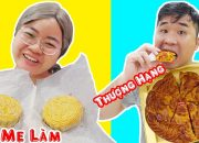Bánh Trung Thu Mẹ Làm vs Bánh Trung Thu Thượng Hạng Khổng Lồ | Mẹ Ghẻ Con Chồng