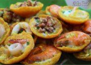 Bánh khọt miền tây, ngoài giòn trong mềm, nhân hải sản rất ngon || Mini Pancake || Natha Food