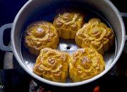 Làm thử bánh trung thu nướng bếp than | Miền Tây TV