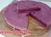 Cách làm bánh khoai lang tím hấp dẻo ngon đơn giản