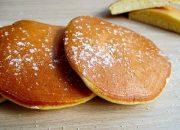 cách làm bánh rán (pancake) thơm mềm- không bột nở