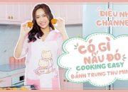 Cooking Easy | Diệu Nhi Hướng Dẫn Làm Bánh Trung Thu Với Những Nguyên Liệu Chưa Thấy Trên Đời