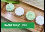 Cách làm bánh phục linh nước dừa thơm ngon dễ làm màu lá dứa tự nhiên   Món Việt