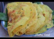 Bánh xèo truyền thống, cách chiên  bánh giòn mà ngon đúng vị, cách đổ bánh tròn đẹp     Natha Food