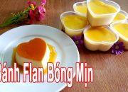 Cách Làm Bánh Flan Bóng Mịn | How To Made Flan | Góc Bếp Nhỏ