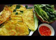 Món Ăn Ngon – Bánh Xèo Măng Tôm Thịt chuẩn hương vị của Mẹ