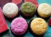 Cách Làm Bánh Trung Thu-Bánh Dẻo 5 Màu Từ Màu Tự Nhiên | Góc Bếp Nhỏ