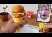 Ăn ruồi ăn đất nặn bạn có tin ?  Làm bánh Hamburger bằng đất nặn | Không Thử tại nhà