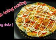 Cách làm Bánh tráng nướng bằng chảo đơn giản ^^