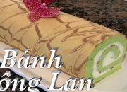 Cách làm bánh bông lan vị lá dứa thơm ngon  – Pandan Swiss Roll – Cuôc Sống Mỹ | Taylor Recipes