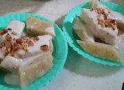 Cách hấp bánh chuối xốp, ăn với nước cốt dừa béo ngậy. Không ngon không lấy tiền