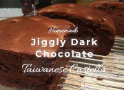 Bắt chước Le Castella làm bánh bông lan Đài loan siêu mịn | Jiggly Chocolate Taiwanese Castella Cake