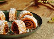 ✅Cách làm Bánh Bí Ngô cuộn đậu đỏ tẩm dừa đơn giản tại nhà | Món Ngon Gia Đình