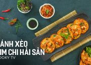 #CookyVN – Cách làm Bánh Xèo Kim Chi Hải Sản Hàn Quốc ngon – 김치 팬케이크 – Kimchi Pancake – Cooky TV