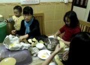 Hướng dẫn các con làm bánh Gối tuyệt ngon của Gấu Mẹ Vĩ Đại