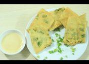 Cách làm bánh hành chiên Hàn Quốc tuyệt ngon – Món bánh ngon dễ làm