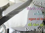 Công thức BÁNH CUỐN tráng nồi hơi truyền thống từ 100% bột gạo và cách đổ bánh – Tram Nguyen Germany