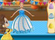 Cùng Lala thử làm bánh kem công chúa, bánh kem búp bê