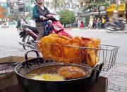 Giòn ngọt cùng bánh chuối – Ngô – khoai Rán đường phố Hà Nội #hnp