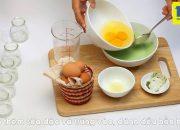 Nấu ăn bằng lò vi sóng: Làm bánh Flan Matcha