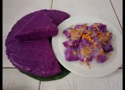 Cách làm bánh khoai mỡ hấp nước cốt dừa, món ăn mới lạ, hấp dẫn