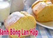 Cách Làm Bánh Bông Lan Không Cần Lò Nướng – Bánh Bông Lan Hấp Xốp Mềm Đơn Giản | Góc Bếp Nhỏ