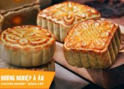 2 cách làm bánh Trung thu nướng nhân hạt sen – nhân sữa dừa | Học làm bánh Trung Thu