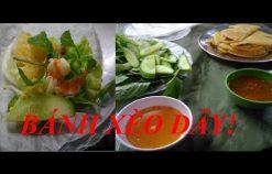 Cách làm bánh xèo ngon tại quán bánh xèo ngon nhất Hà Nội   Học cách làm Bánh Xèo ngon giòn tại nhà