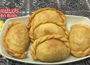 Cách làm bánh quai vạc, bánh xếp, bánh gối cách làm rất dễ. Bếp Yên Bình.