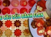 Thử Làm Rau Câu Dừa Nhân Bánh FLan – Huy Nguyễn