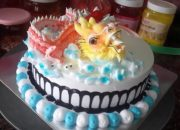 Bánh Kem Sinh Nhật Tuổi Thìn – Con Rồng – Mini dragon cream cake