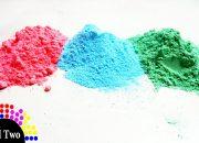 [Thử Nghiệm] Cách làm bột màu bằng bột năng và màu vẽ