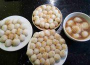 Cách làm bánh trôi ngon từ bột nếp khô